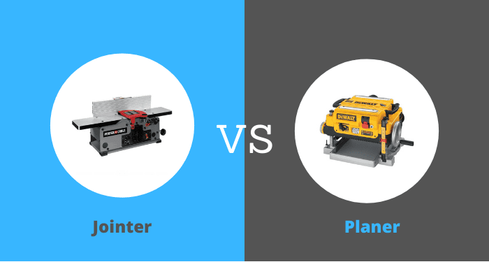 Jointer Power Tools Woodworking vs Planers
