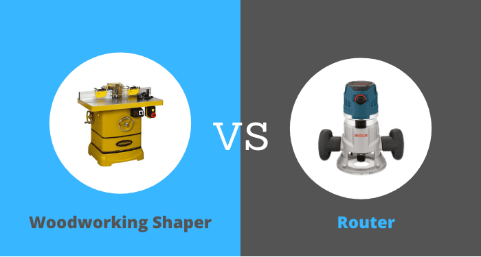 Shapers Woodworking Power Tools vs Routers
