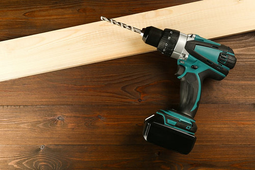 electric drill - must-have woodworking power tools