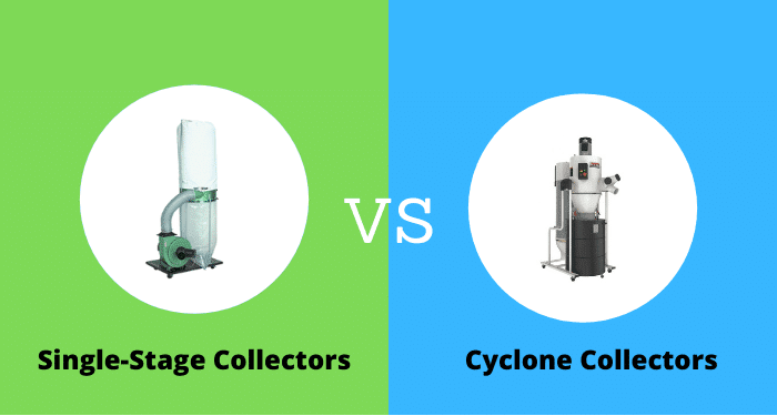Woodworking Dust Collection Systems Cyclone vs Single-stage